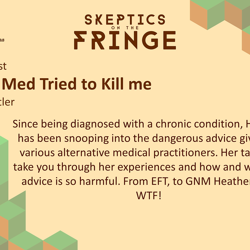 Heather Pentler - How Alt Med Tried to Kill Me
