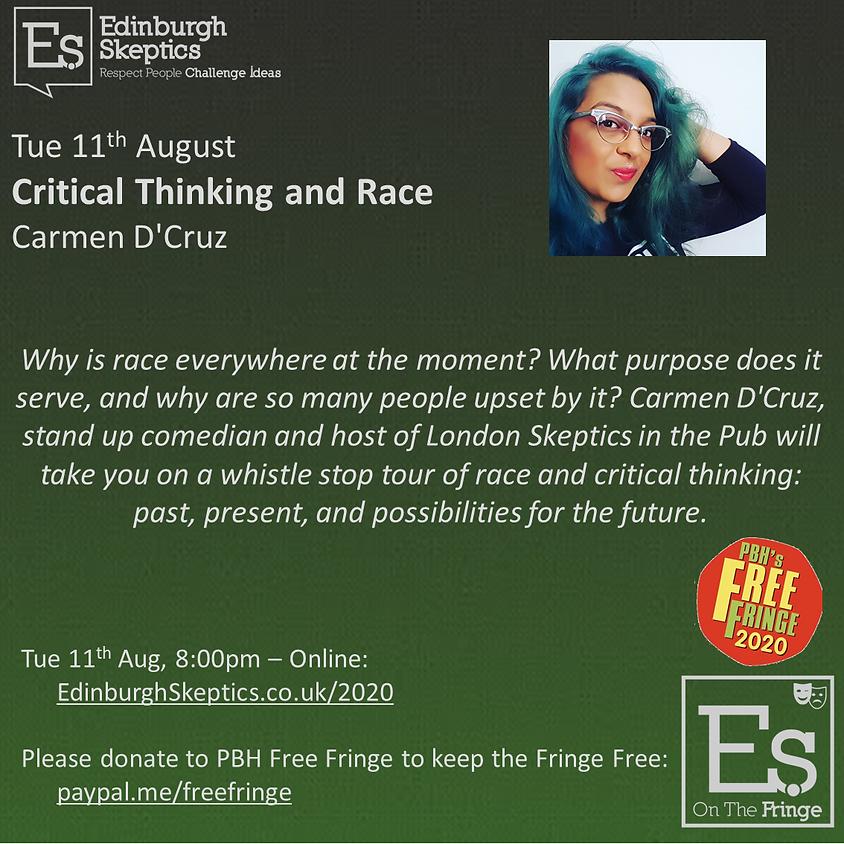 Carmen D'Cruz - Critical Thinking and Race