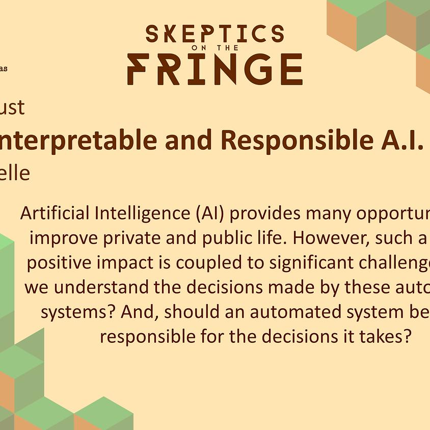Dr Vaishak Belle - Towards Interpretable and Responsible Artificial Intelligence