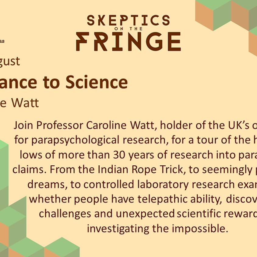 Prof. Caroline Watt - From Seance to Science: The Koestler Parapsychology Unit