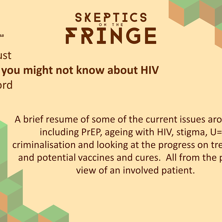 Cathy Crawford - Some things you might not know about HIV