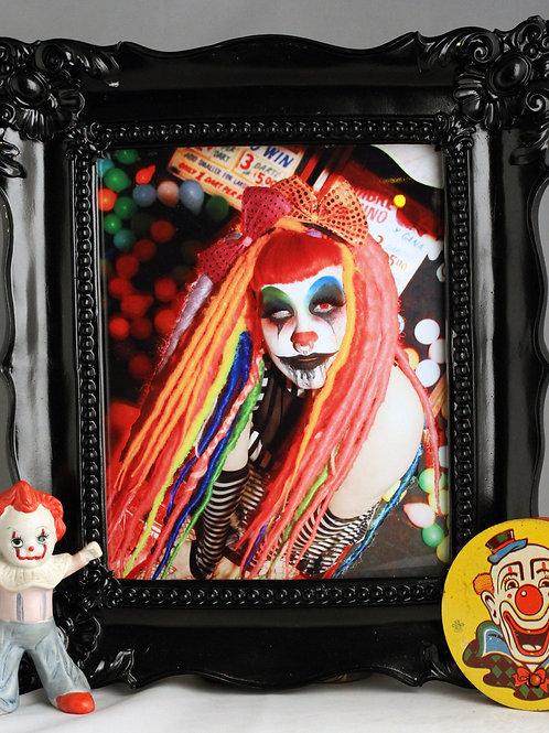 """Skarlita La Payasita at the Circus 8""""x10"""" photo print"""