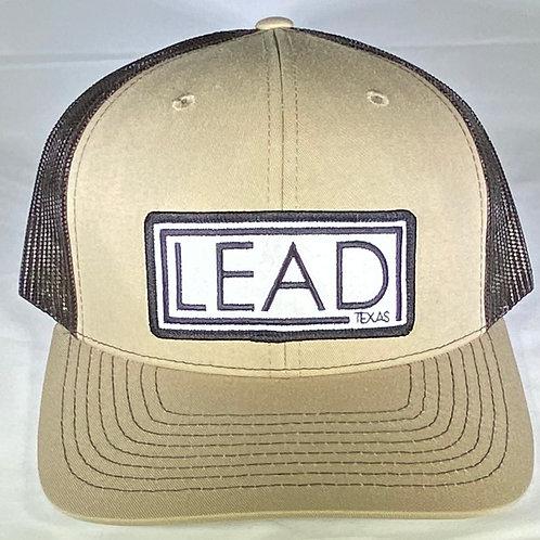 Tan Lead Logo Patch Hat