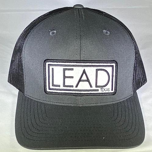 Charcoal Lead Logo Patch Hat