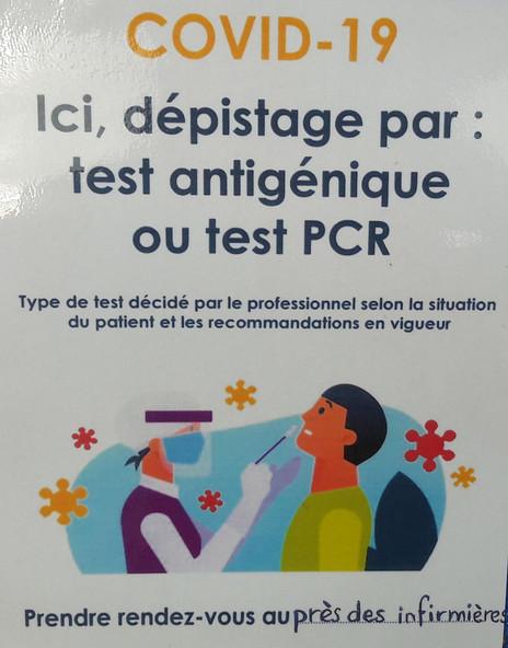 COVID 19 : TEST PCR