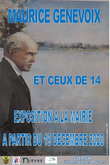 EXPOSITION MAURICE GENEVOIX ET CEUX DE 14