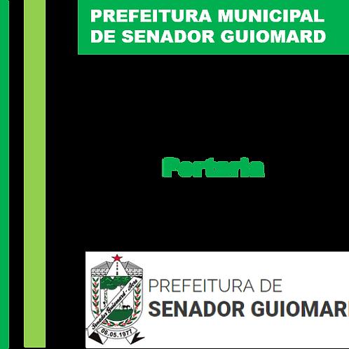 Portaria N° 052/2020 - EMPRESA I C OLIVEIRA COSTA – ME LTDA