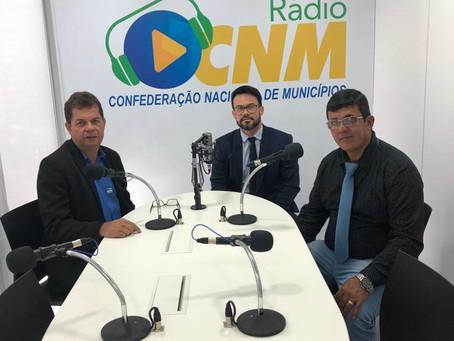 Prefeito Gilson Pessoa cumpre agenda em Brasília na busca de recursos para o Quinari