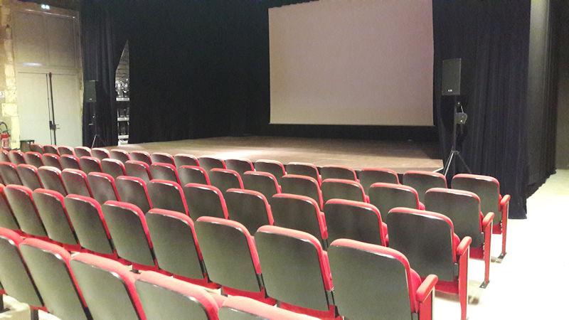 Un lieu de projections cinématographiques