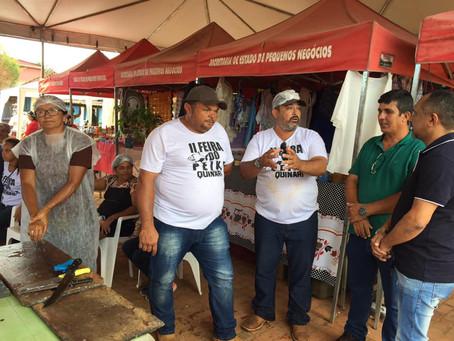 Prefeito Gilson Pessoa recebe Superintendente do MAPA/AC, Prof. Luziel Carvalho