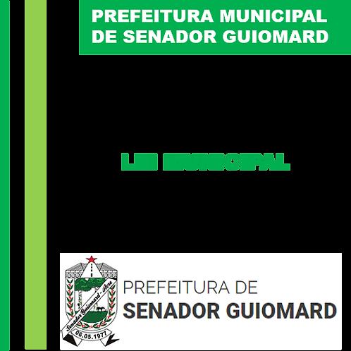 Lei nº 579/2007  - Código de Obras Municipal
