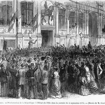 La République a 150 ans