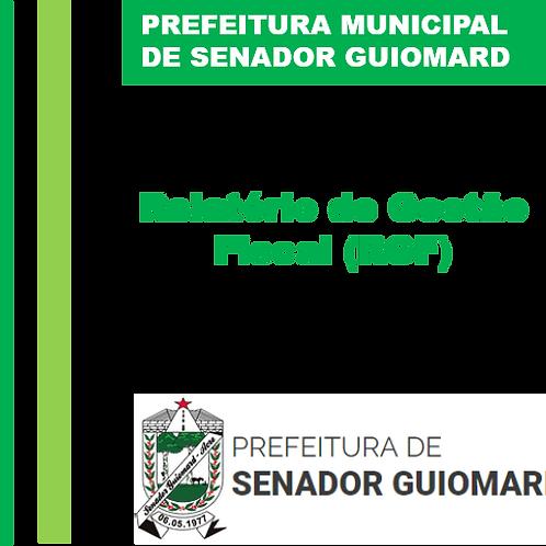 RGF 2020 - 1° Quadrimestre