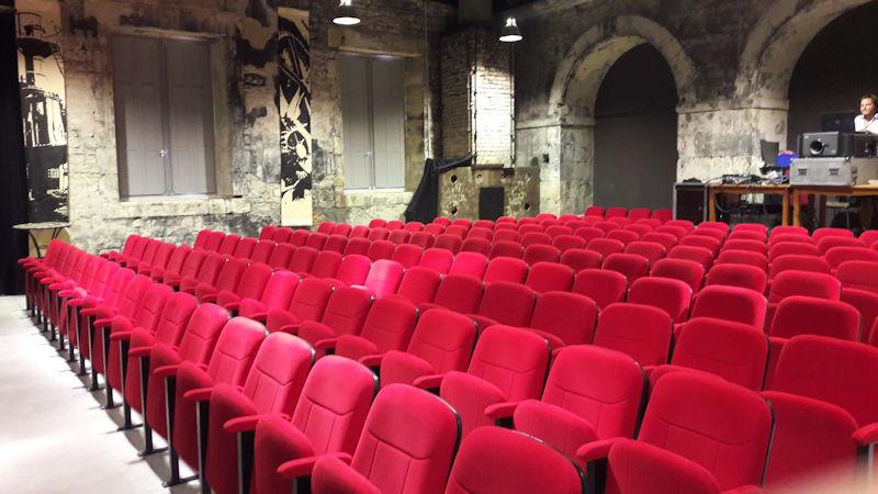 La salle du théâtre des Forges Royales