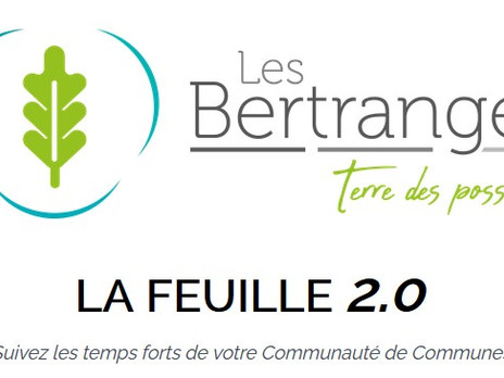 LA NEWSLETTER DES BERTRANGES