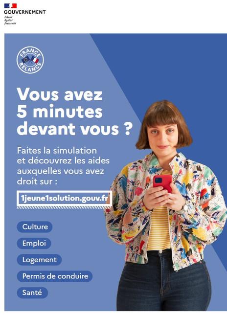 France Relance - #1jeune1solution – Toutes les aides pour les moins de 30 ans