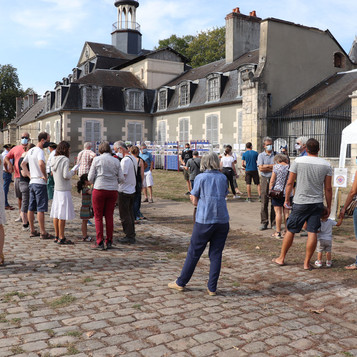 Gros succès pour l'ouverture du château et parc  Babaud de la Chaussade les 19 et 20 septembre.