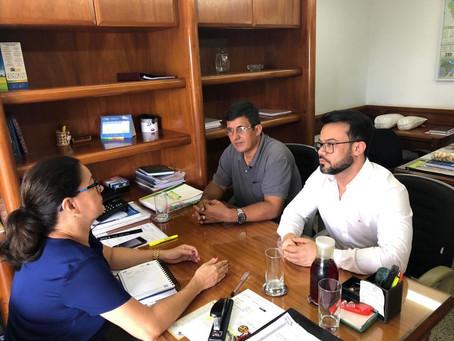 Prefeito Gilson Pessoa cumpre agenda em Brasília em busca de recursos para o município