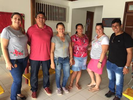 Prefeito Gilson Pessoa e Secretário de Educação Carlos Afonso vistoriam estrutura física de escolas