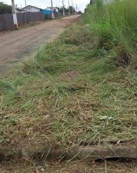 Secretaria de obras avança na limpeza da cidade mesmo no período chuvoso