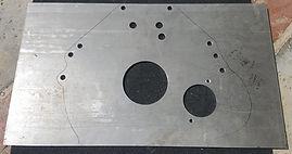 DeTomaso Pantera Aluminum Mid-Plate