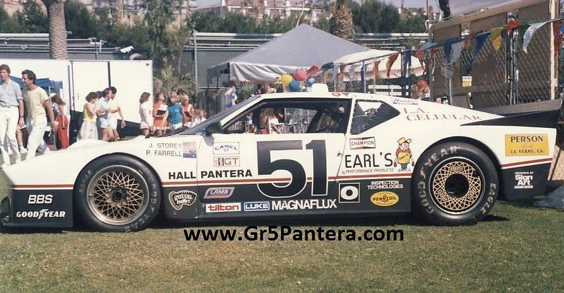 IMSA Pantera at Newport Invitational 198
