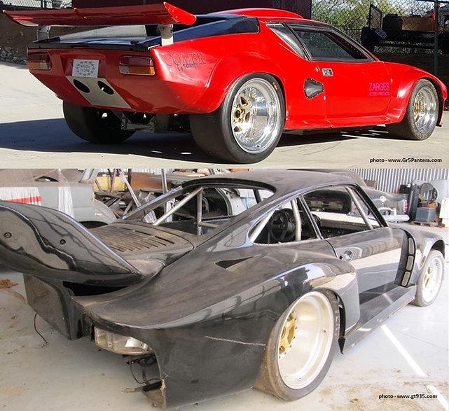 Group 5 Wheels - Pantera & Porsche 935