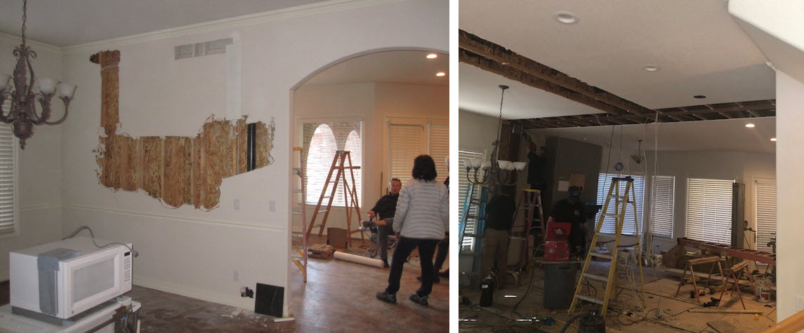 Structural Wall Installation
