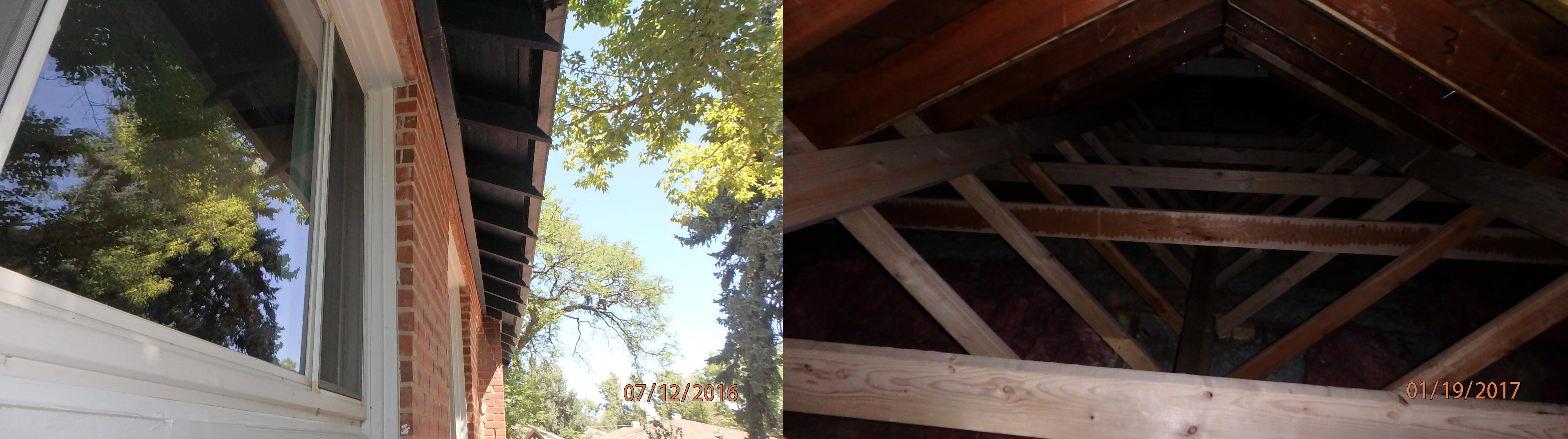 Failing Roof Repair