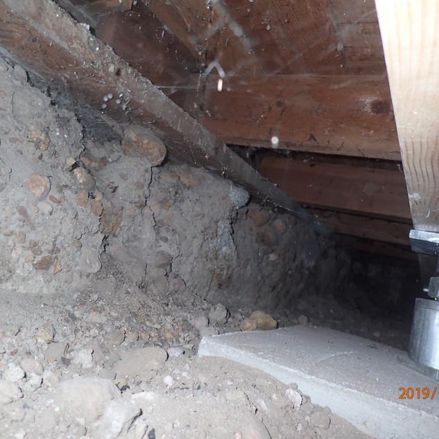 Water Damaged Floor Framing - Incorrect Repair