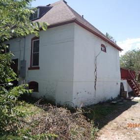 Damaged Exterior Wall