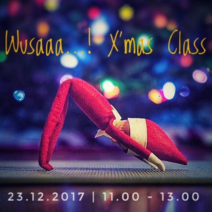 Wusaaa... - Christmann Class | Yoga Special