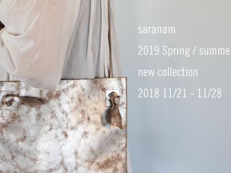 saranam 2019 S/S 新作BAG 受注会
