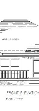 Grande House Plan - Front Elevation