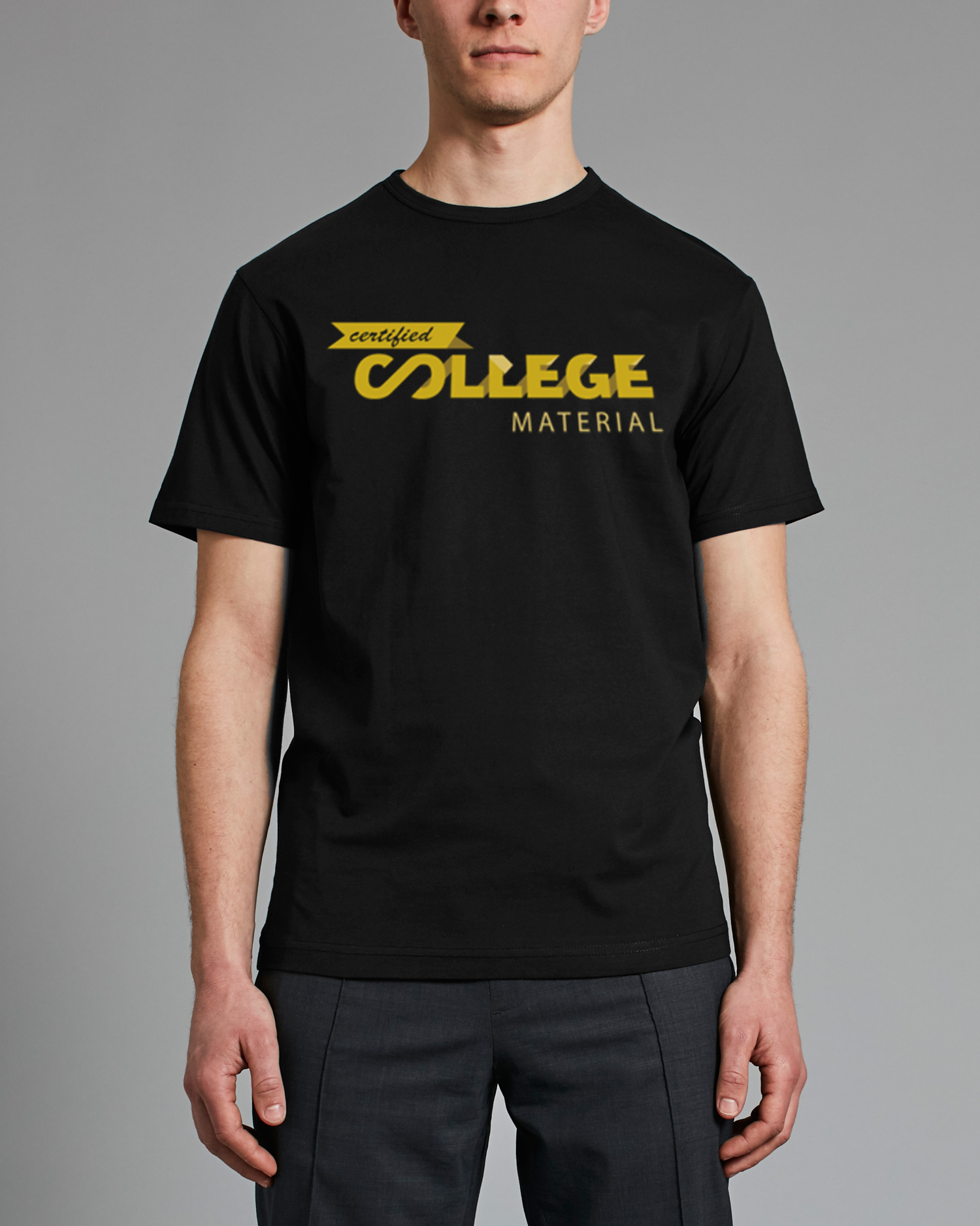 College Material Tee