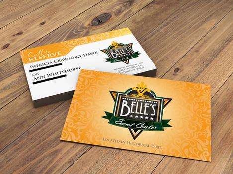 Bell Event Center Business Card