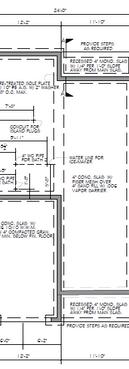 Town Home Design - Foundation Plan