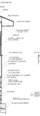 Grande House Plan - Wall Section & Details