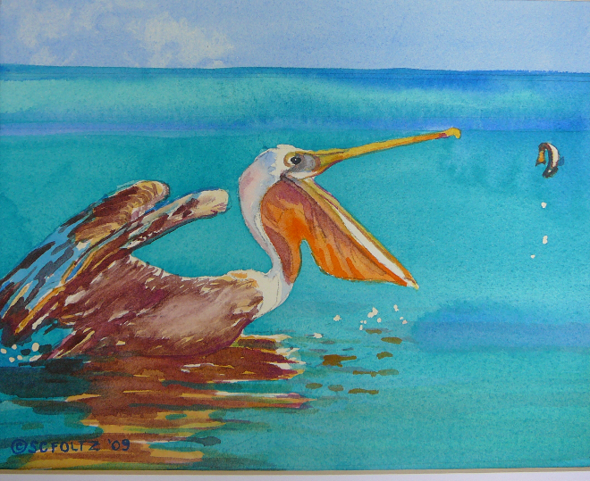 Pelican Lunch