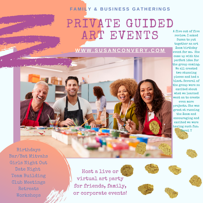 Private Guided Art Events