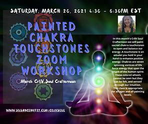 Eventbrite Painted Chakra Touchstones Zo