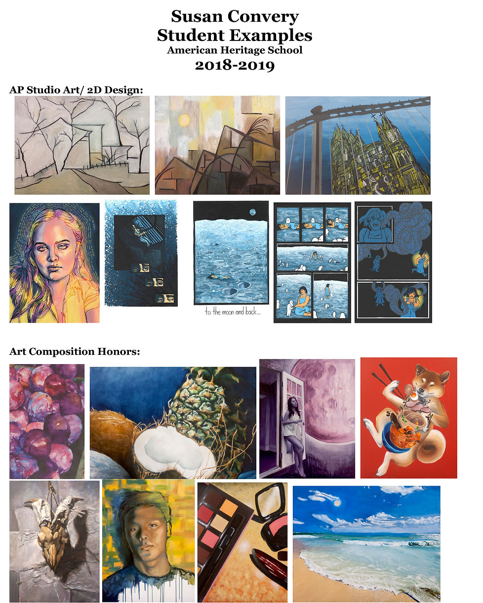 Susan Convery Student Examples 2018  201