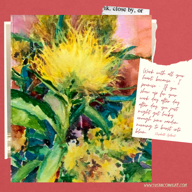 A Brush with Yellow