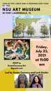 Art Adventure - NSU ART MUSEUM in Fort Lauderdale, FL: