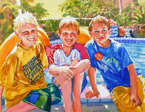 Chase, Daniel & Stevie