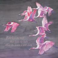 Spoonbills Faith