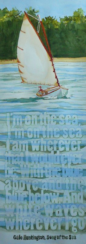 I am on the Sea Quote