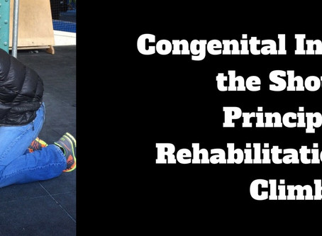 The Hypermobile Climber with Shoulder Pain - Principles of Rehabilitation
