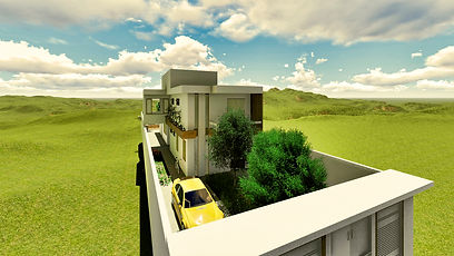 Telhado da casa