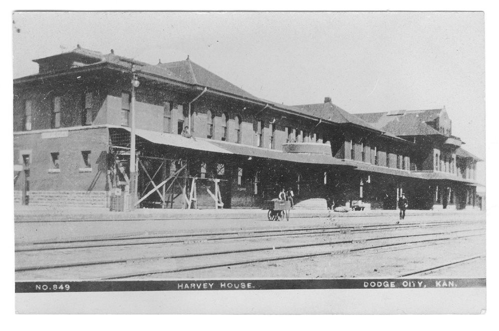 ATSF depot/Harvey House